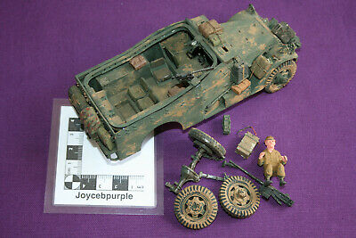 £15 • Buy Airfix M3A1 Scout Car 1:35 Scale Model For Parts Spares, Repair Or Scrap.