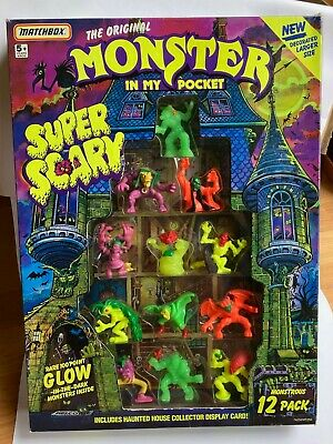 £35 • Buy Monster In My Pocket - Super Scary - Collector Display - Complete - Rare 12 Pack
