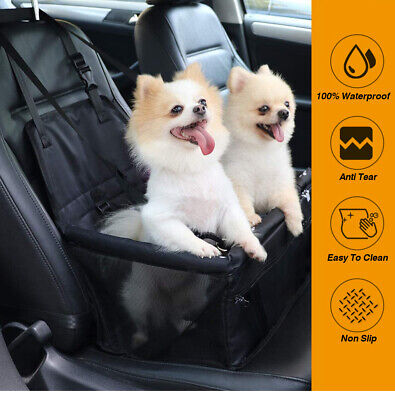 £12.99 • Buy Pets Large Car Booster Seat Dog/Puppy Travel Safety Carrier Bag/Bed 40*32*24cm