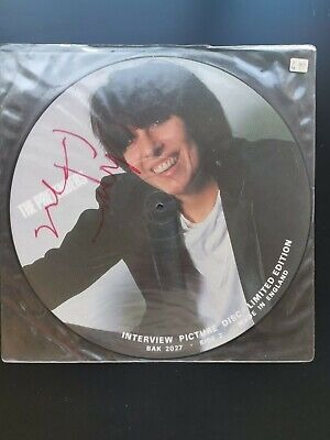 £20 • Buy Signed/Autographed The Pretenders Ltd Ed Interview Picture Disc Record BAK 2027
