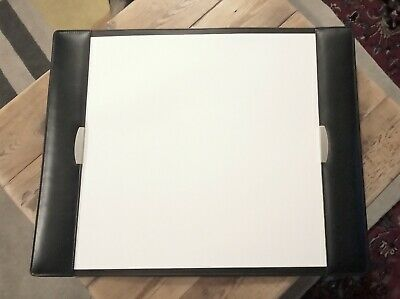 £32 • Buy Leather Military Full Desk Blotter 480 X 610 Mm Approx