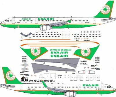 £7.26 • Buy EVA Airbus A-321 Pointerdog7 Decals For Revell 1/144 Kit