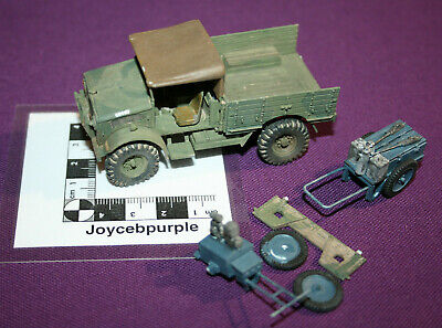 £200 • Buy Airfix Bedford WMD Truck & Trolleys 1:48 Scale Model For Parts, Spares, Repair.