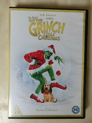 £2.20 • Buy How The Grinch Stole Christmas (DVD, 2016) Jim Carrey