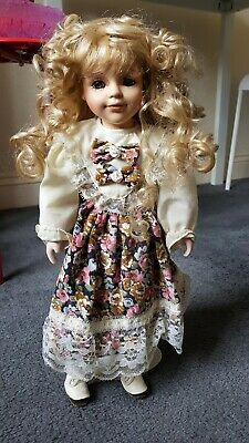 £0.99 • Buy Porcelain Doll With Stand