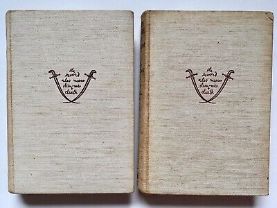 £10 • Buy The Seven Pillars Of Wisdom By T.E. Lawrence Volumes 1&2 1939 Reprint Society