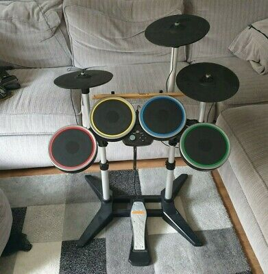£140 • Buy Rock Band 3 - Wireless Drum Kit & Cymbal PS3/PS4/PS5 - No Dongle
