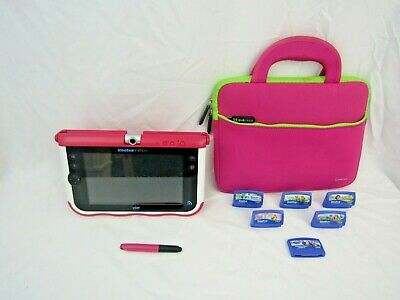 £15 • Buy VTech InnoTab Max Learning Tablet Console Pink + 6 Games & Case S1
