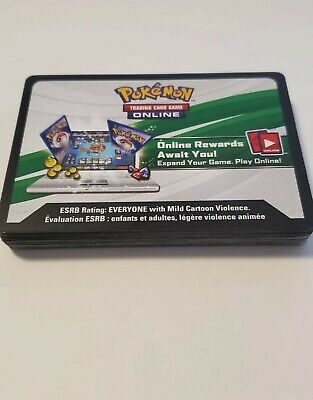 $2.76 • Buy 20x Pokemon PTCGO Codes Lot - Various Sets - Online Delivery SENT FAST! TCG