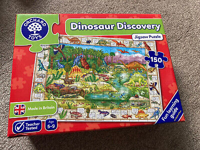 £2.20 • Buy Orchard Toys Dinosaur Discovery Jigsaw Puzzle - Very Good Cond