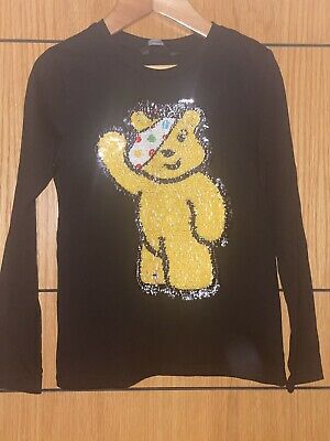 £3 • Buy Pudsey Children In Need Switchy Long Sleeved T Shirt Top Age 5-6