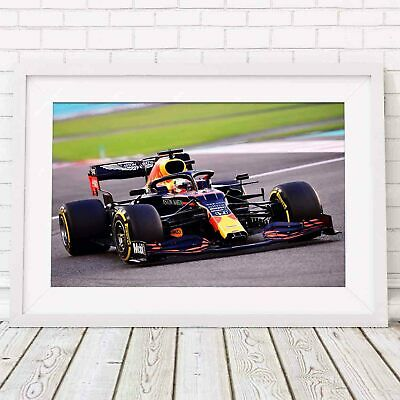 AU18.95 • Buy Red Bull - Verstappen Formula 1 Sports Car Poster Picture Print - Sizes A5 To A0