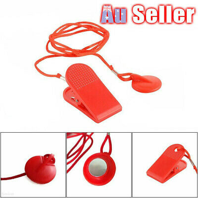 AU9.85 • Buy Treadmill Safety Key Lock Running Machine Switch Security Magnetic Fitness VW