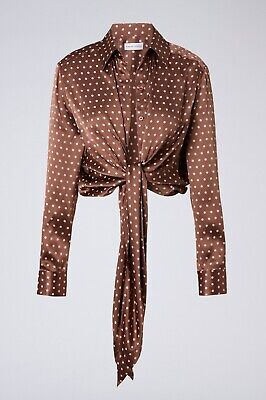AU194.99 • Buy Scanlan Theodore Size 12 (may Also Fit 14 16) Silk Spot Print Shirt