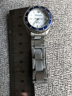 £20 • Buy Ladies Quicksilver Divers Watch Working But For Repair Crystal Scuffed