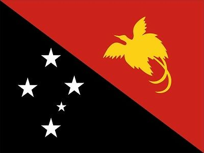 £2.14 • Buy Papua-New Lfd0145 Car Sticker Flag Country