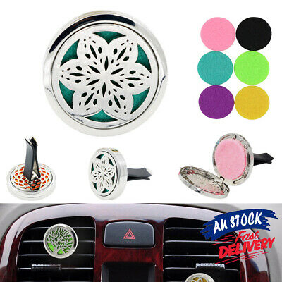 AU9.89 • Buy Car Accessories Freshener Stainless Steel Aromatherapy Diffuser Essential Oil