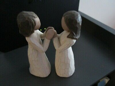£25 • Buy  Willow Tree Susan Lordi - 'sisters By Heart  ' Figure 2000 - New