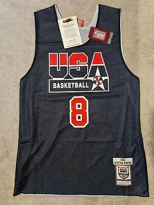 £40 • Buy Mitchell And Ness Scottie Pippen Dream Team USA Jersey Reversible Brand New