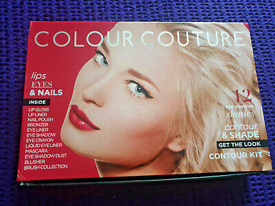 £16.99 • Buy New Colour Couture Collection Makeup Lips, Nails, Eyeshadows And Blush Set