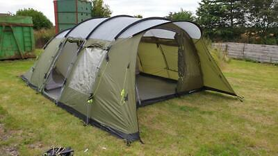 £399.99 • Buy Outwell - Palm Coast 6 - Six Man Person Berth Family Camping Tent Green Used Big