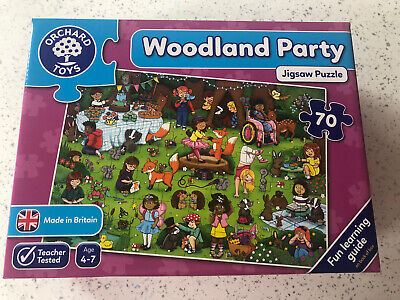 £5.20 • Buy Orchard Toys Woodland Party Puzzle