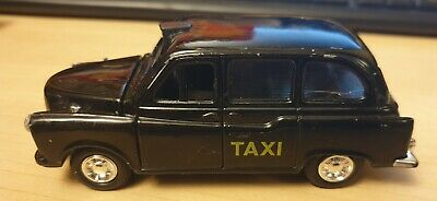 £2.99 • Buy Welly London Black Taxi Cab. Opening Doors, Bonnet. Pull Back And Go Toy Car