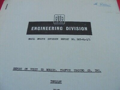 £6 • Buy Ruston And Hornsby--Engineering Division