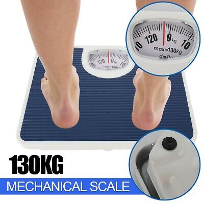 £12.99 • Buy Bathroom Scales,Accurate Mechanical Dial Weighing Scale,Measure Body Weight,Blue