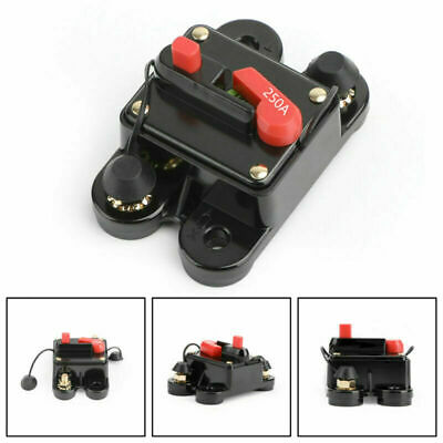 £10.78 • Buy 250A Circuit Breaker Stereo Blow Replace Reset Fuse Switch For Car Audio Marine/