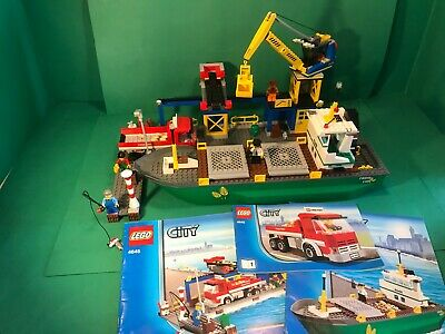 £60 • Buy Lego City 4645 City Harbour With Instructions 100% Complete VGC No Box