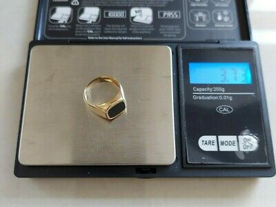 £35 • Buy 9ct 375  3.73 Grams SOLID GOLD 375 ASSA FULLY HALLMARKED 9K375  SIZE  ONEX RING