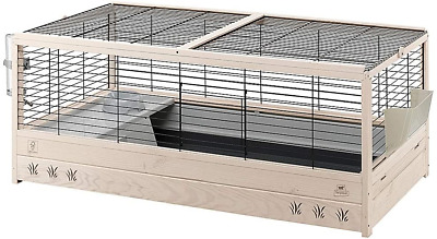 £107.07 • Buy Ferplast FSC Wooden Rabbit Cage ARENA 120, With Accessories Included