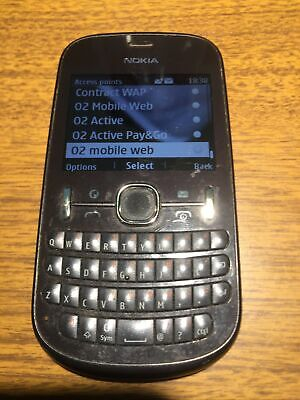£5.99 • Buy Nokia 201 RM-799  Black QWERTY Mobile Phone O2 Network