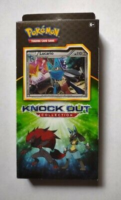 $18.75 • Buy Pokemon TCG Knock Out Collection Lucario Holo Sealed Booster Box Packs 2017