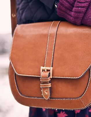 £19 • Buy Joules Womens Saddle Leather Bag - Tan - One Size