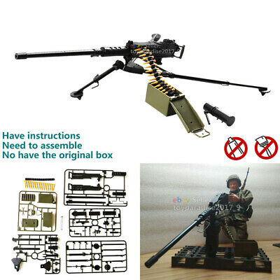£6.22 • Buy 1:6 Browning M2 Machine Gun Model Military Army Assembly Toy For Action Figure