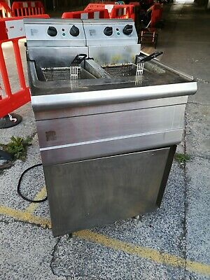 £50 • Buy ++ Parry Double Basket Commercial 3 Phase Fryer Used *sold As Seen* ++
