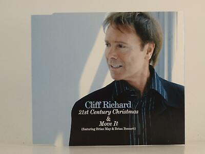 £2.46 • Buy CLIFF RICHARD 21ST CENTURY CHRISTMAS AND MOVE IT (H1) 2 Track CD Single Picture
