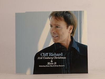 £2.46 • Buy CLIFF RICHARD 21ST CENTURY CHRISTMAS AND MOVE IT (F59) 2 Track CD Single Picture