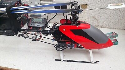 £132 • Buy Align Trex 500 Helicopter, With Radio + Some Spares
