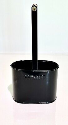 £10.99 • Buy Brand New COWSHED Soho Home Black Caddy *Holds 2 X Hand Wash & Lotion*