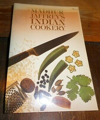 £12.99 • Buy Madhur Jaffrey's Indian Cookery - BBC Paperback Book 1985 Sought After Edition!