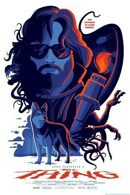 £68 • Buy The Thing Regular Screen Print By Tom Whalen - NT Mondo Poster - Edition Of 190
