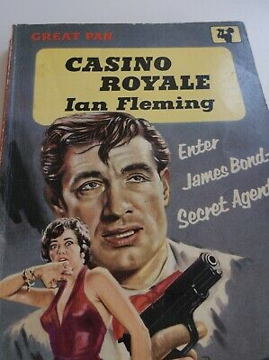 £40 • Buy Casino Royale First Edition In This Pan Book Cover 1958,ian Fleming First Pan