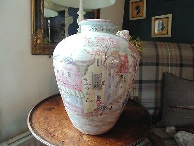£9.99 • Buy Large French Vase With Views Of Paris.