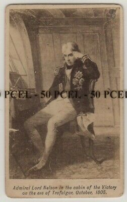 £45 • Buy CDV Photo Admiral Lord Nelson On Eve Of Trafalgar From Earlier Painting C.1890