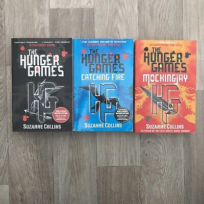 £5.50 • Buy Suzanna Collins Trilogy The Hunger Games, Catching Fire & Mockingjay Bundle Set
