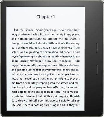 AU242.43 • Buy Amazon Kindle Oasis 7  WiFi E-Reader - With Special Offers 8GB (9th Gen) Read VG