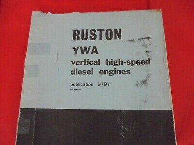 £12 • Buy Ruston And Hornsby Parts Book---- YWA
